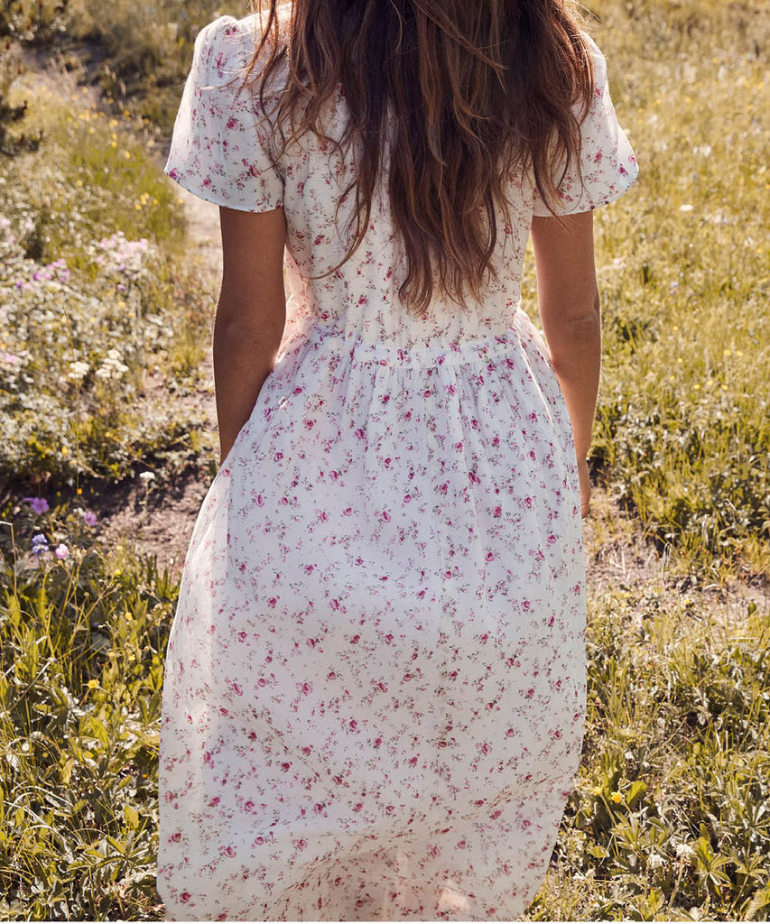The Dawn Dress | Tea Rose (Lined) image 16