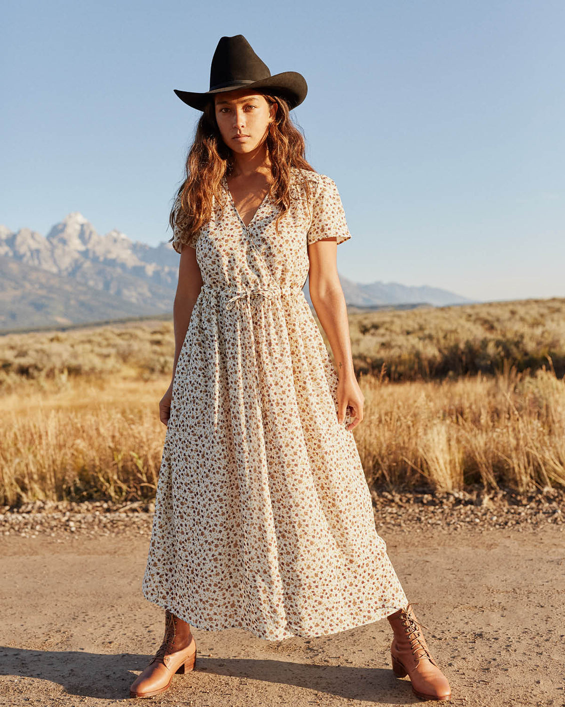 The Dawn Dress | Autumn Breeze (Lined)