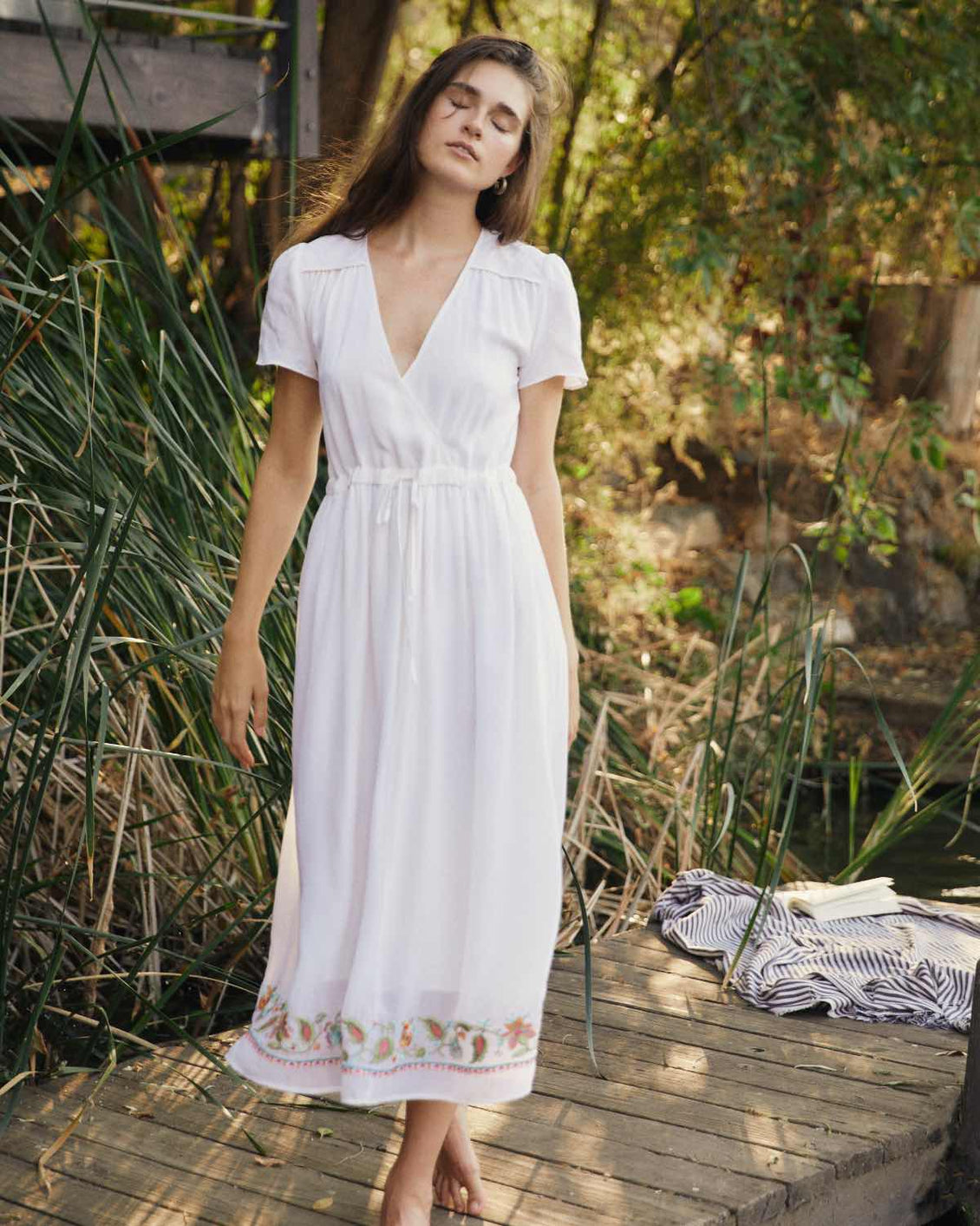 The Dawn Dress | Lily Embroider (3-of-a-Kind)