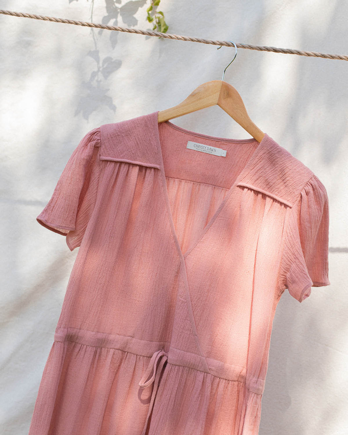 The Dawn Dress | Washed Rose (1-of-a-Kind)