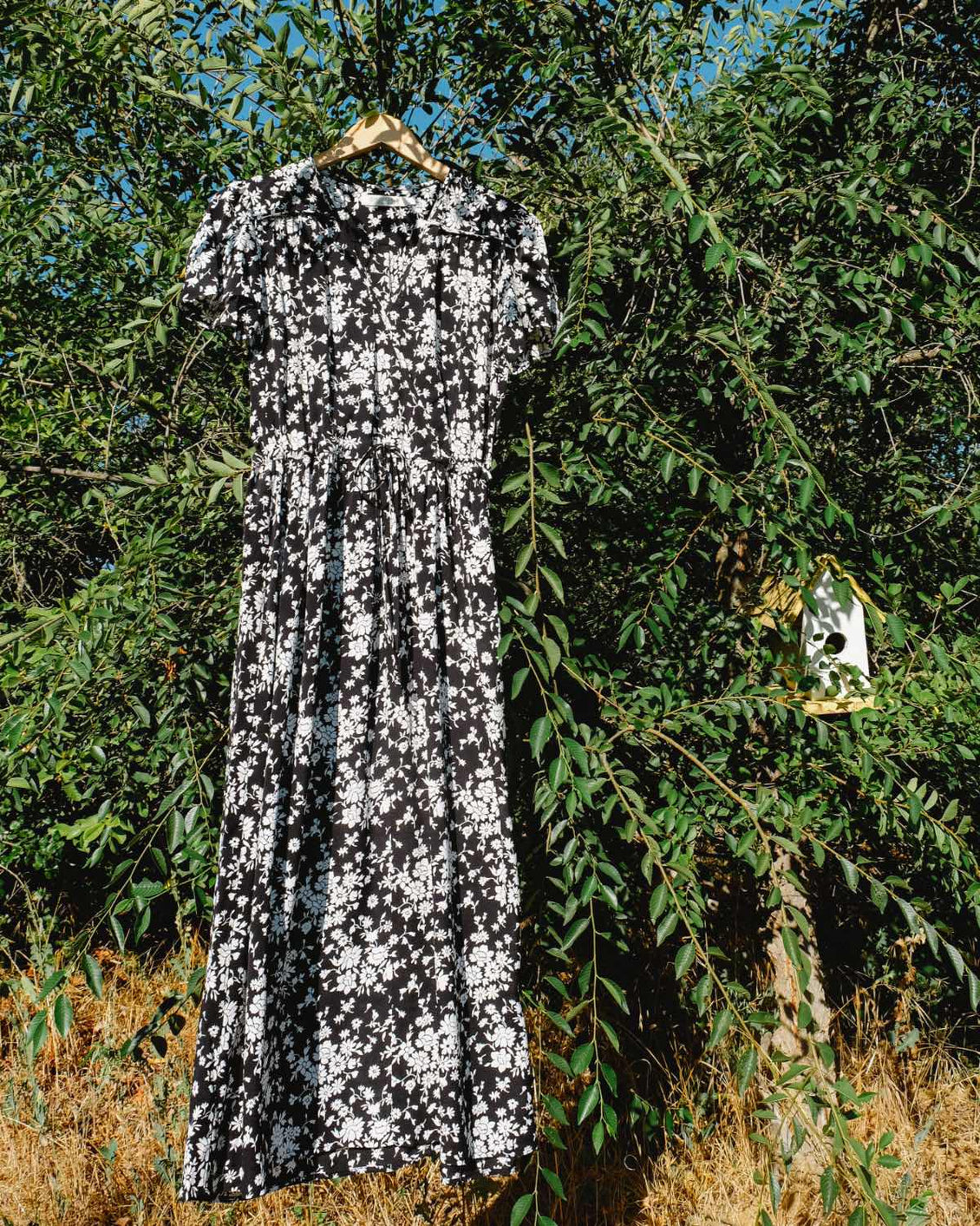 The Dawn Dress | Alabaster Meadow (1-of-a-Kind)
