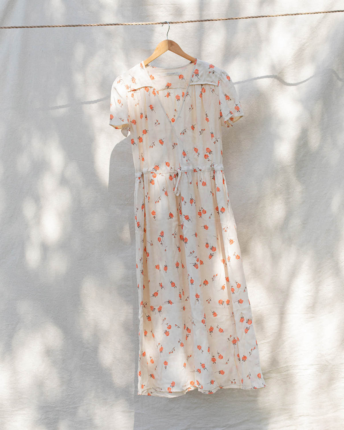 The Dawn Dress | Tangerine Bloom (1-of-a-Kind)