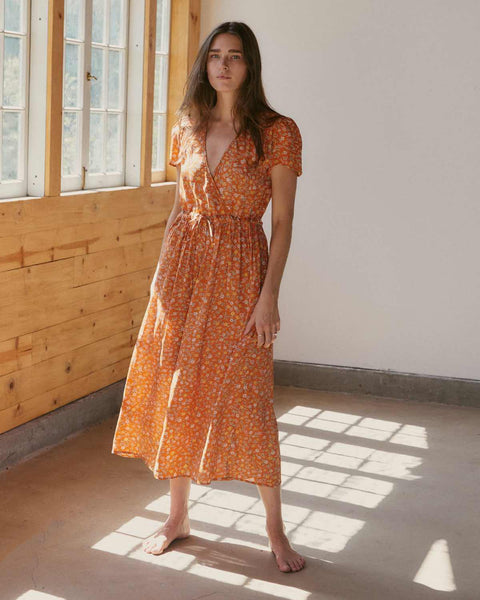 The Dawn Dress | Tangerine Calico