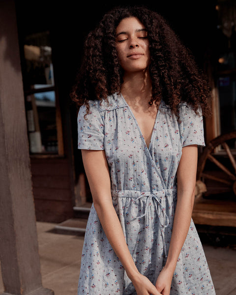 The Dawn Dress | Chambray Floral