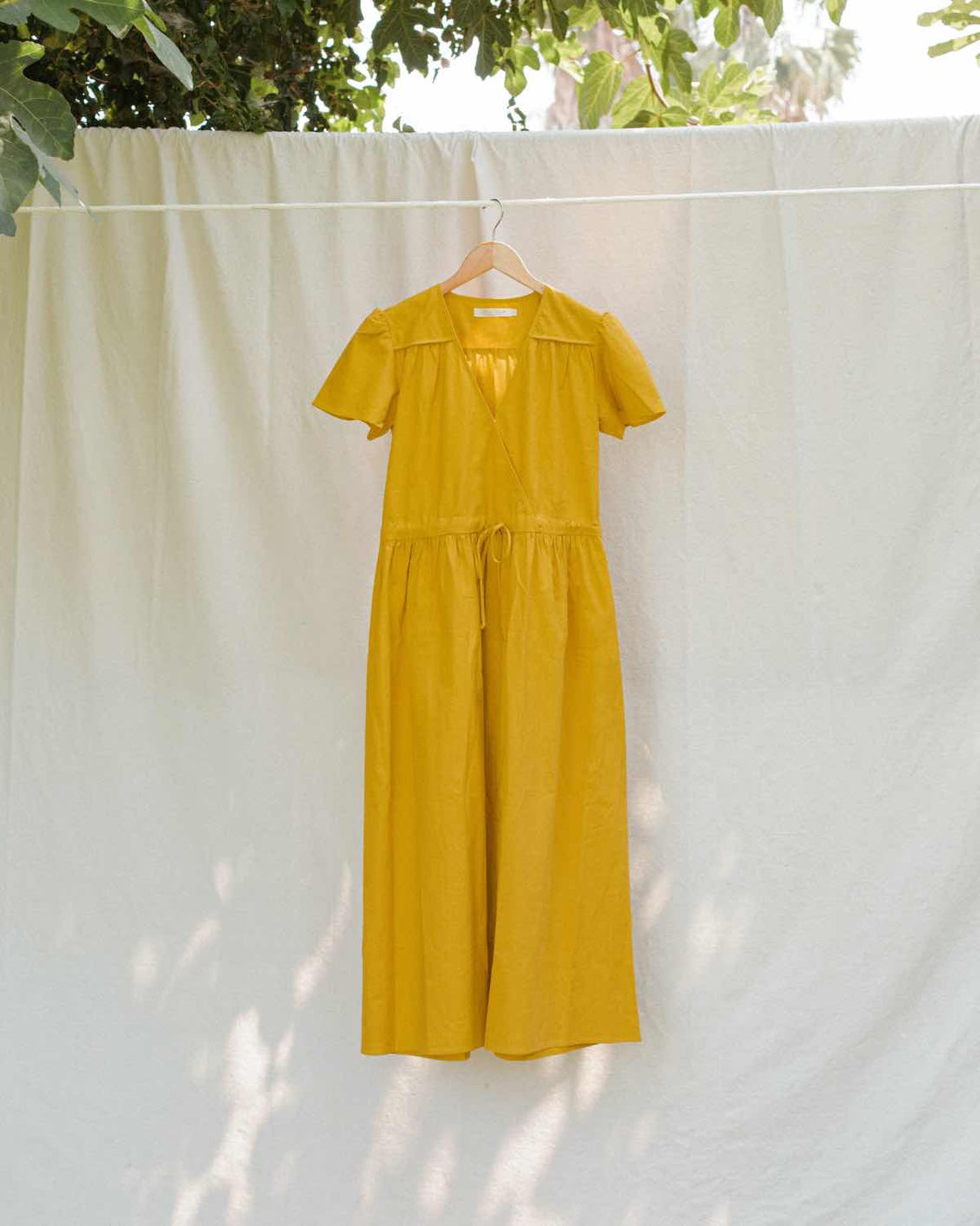 The Dawn Dress | Golden Flax (1-of-a-Kind)