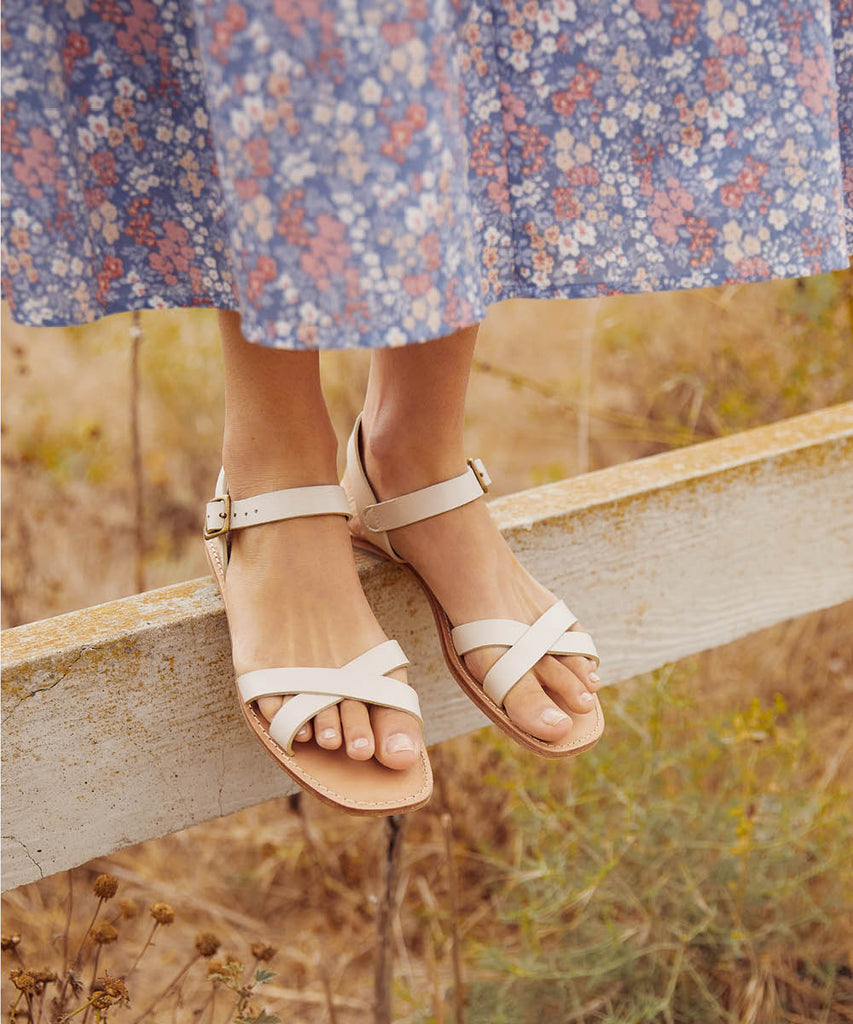 The Dawn Sandal | Sandstone Leather