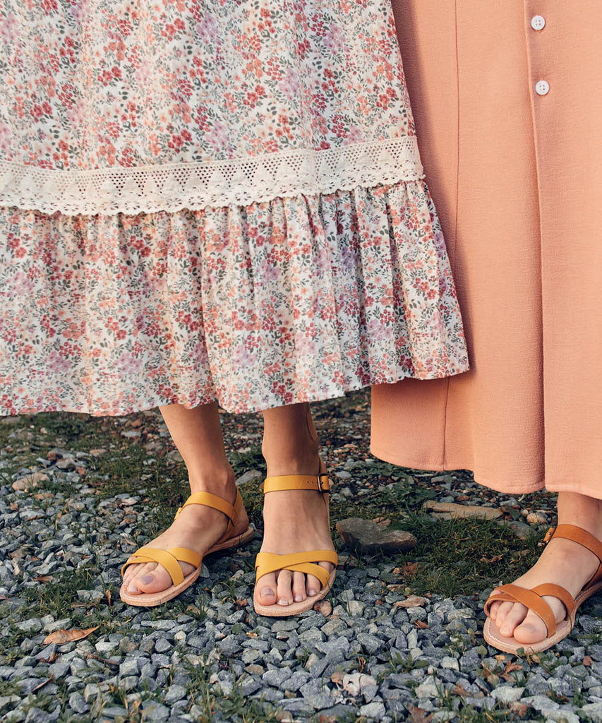 The Dawn Sandal | Chamomile Leather image 9