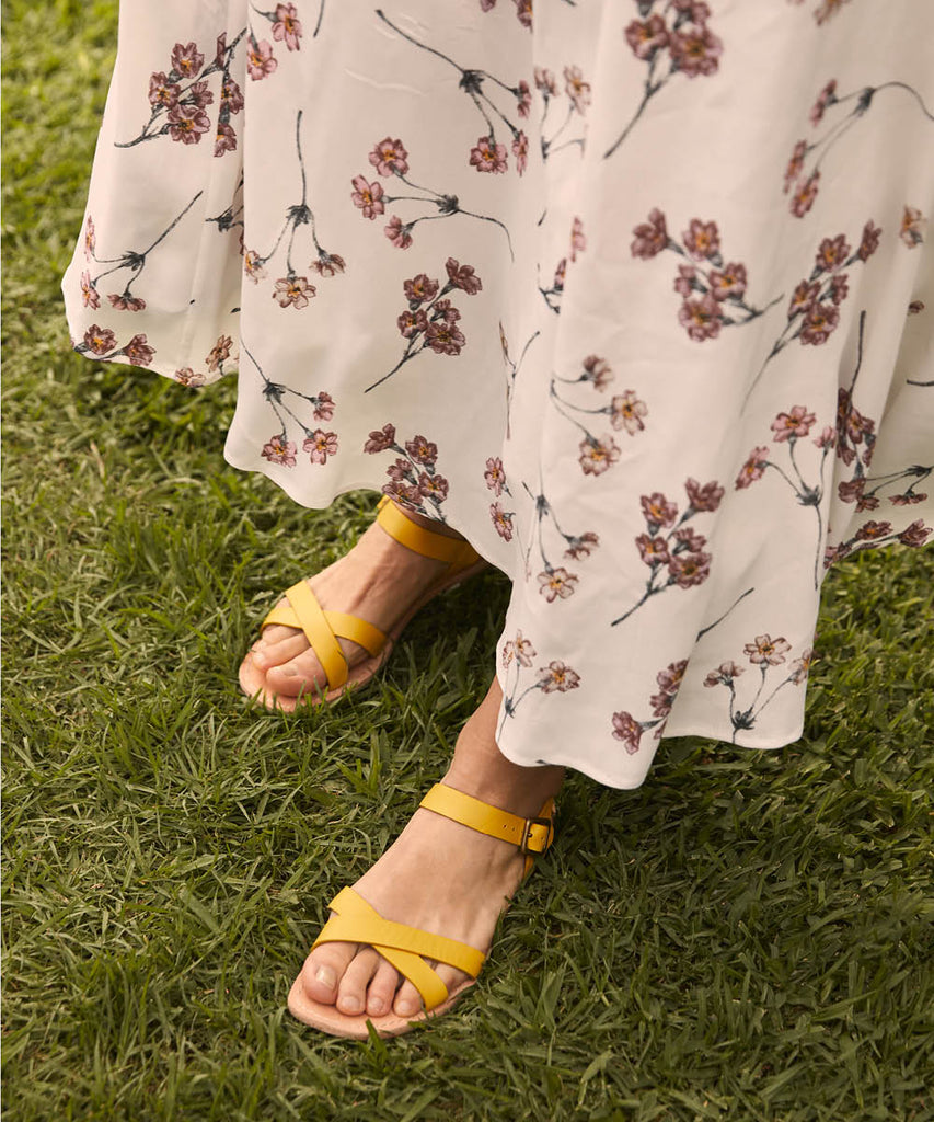 The Dawn Sandal | Chamomile Leather image 3