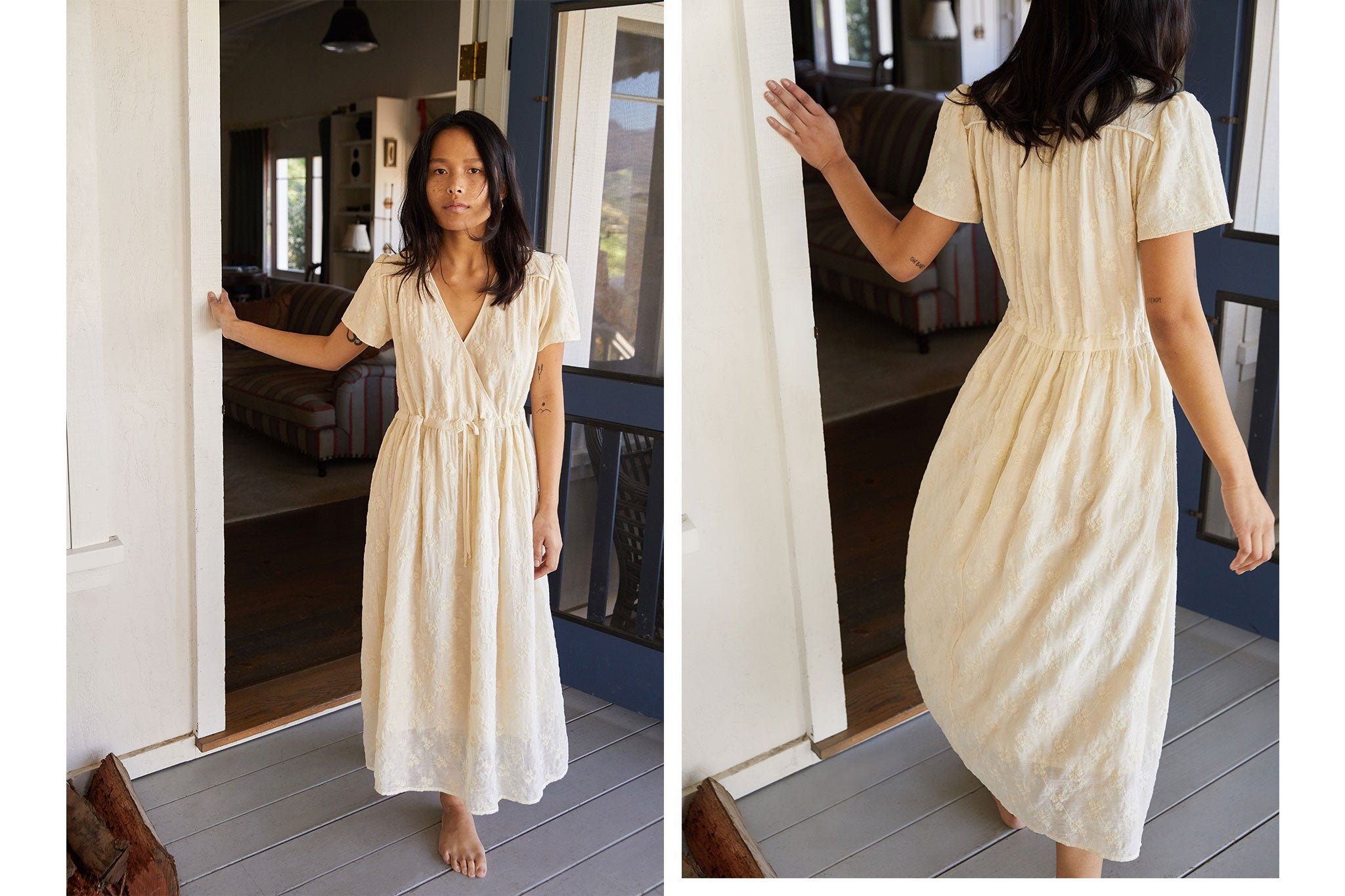 The Dawn Dress | Vintage Embroider