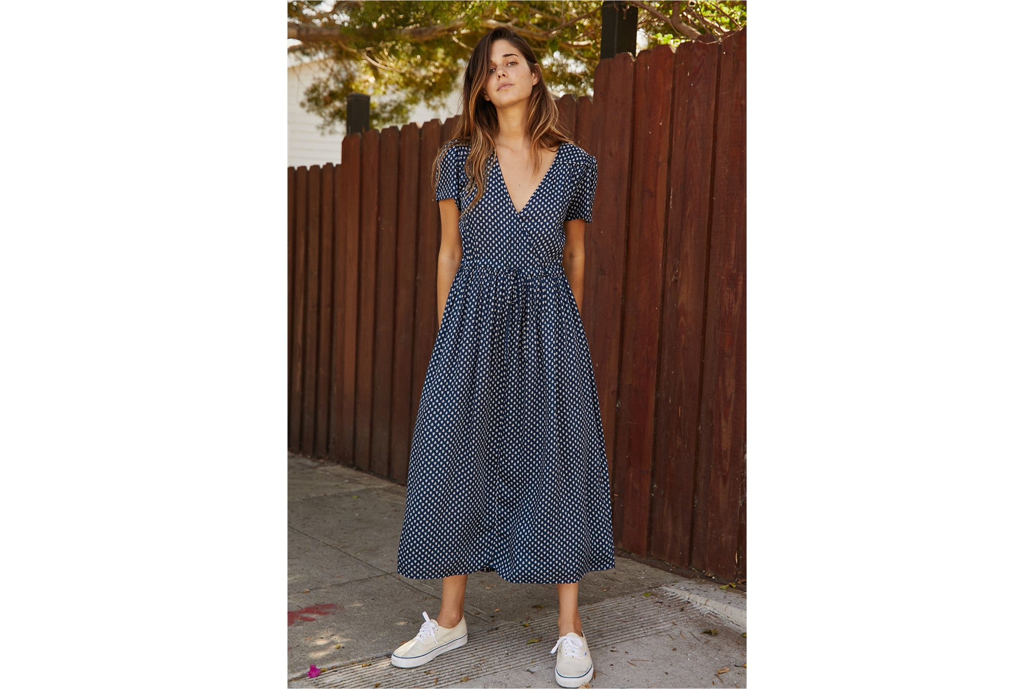 The Dawn Dress | Shibori Block