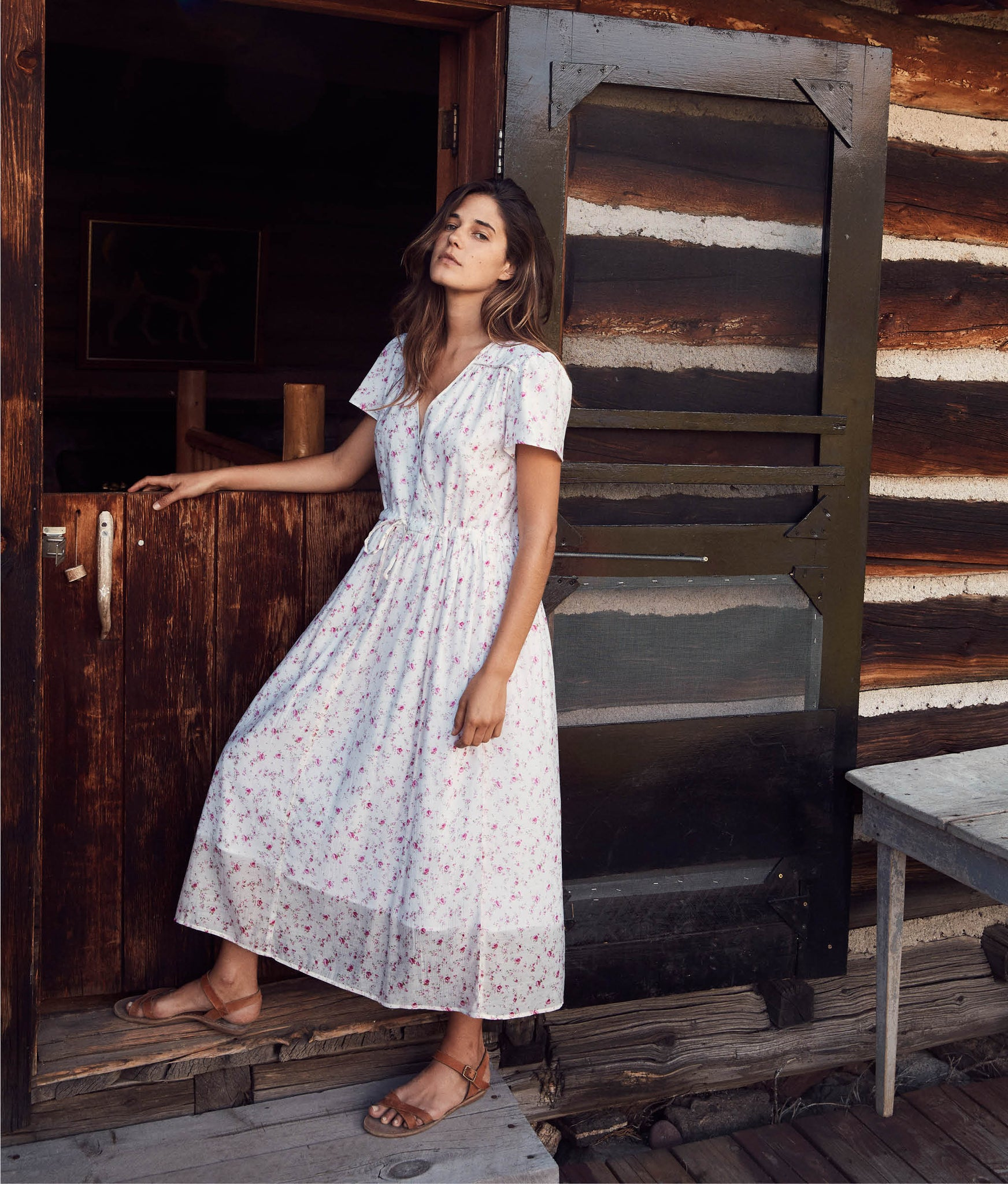 The Dawn Dress | Tea Rose (Lined)
