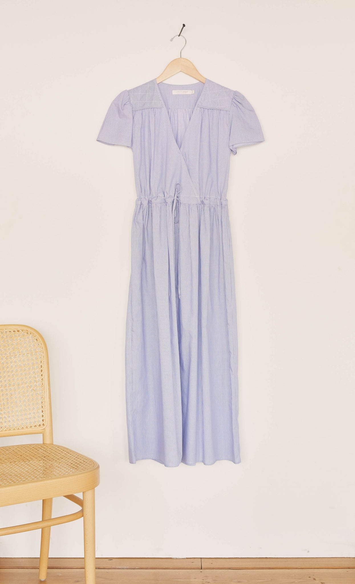 The Dawn Dress | Ocean Stripe