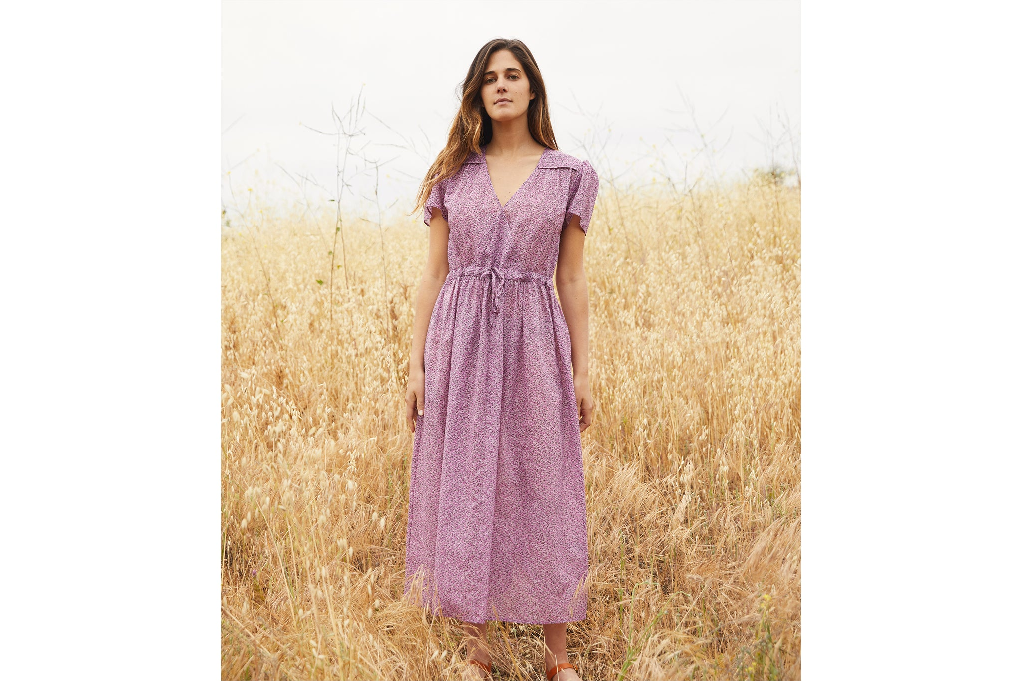 The Dawn Dress | Rosewood Ditsy