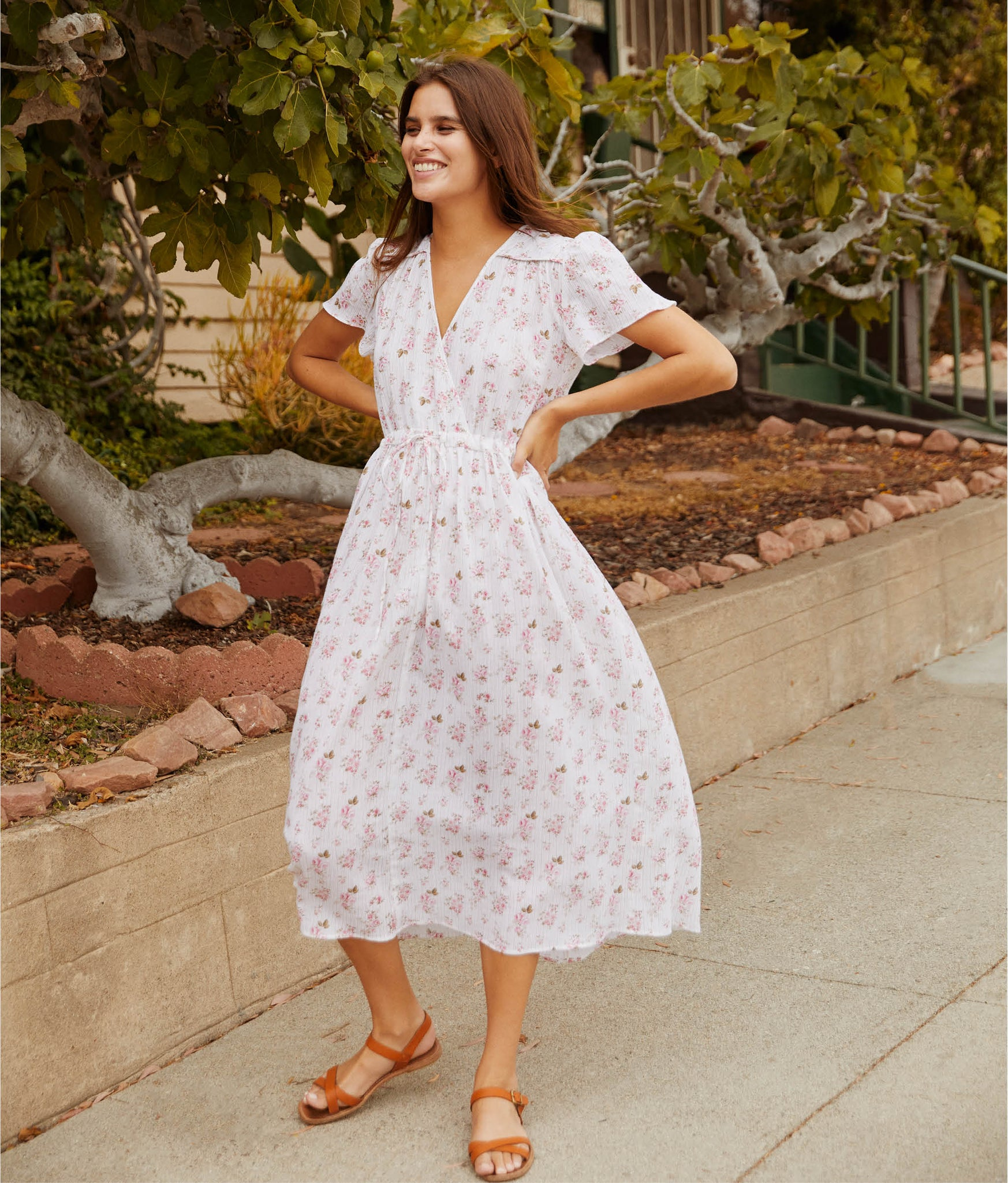 The Dawn Dress | Oma Petal