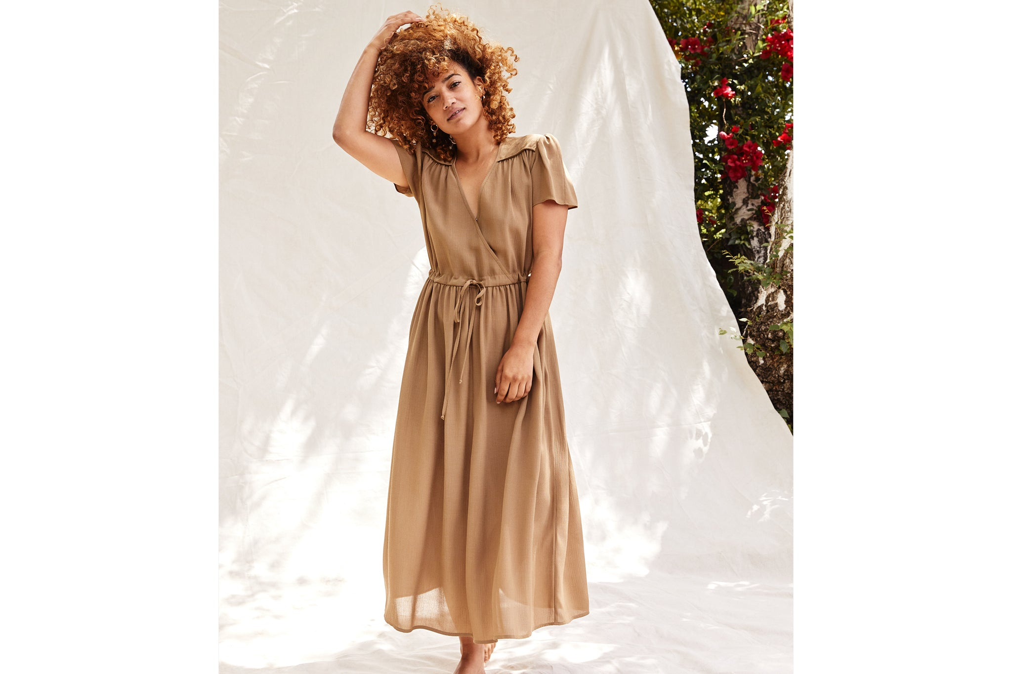 The Dawn Dress Petites | Praline