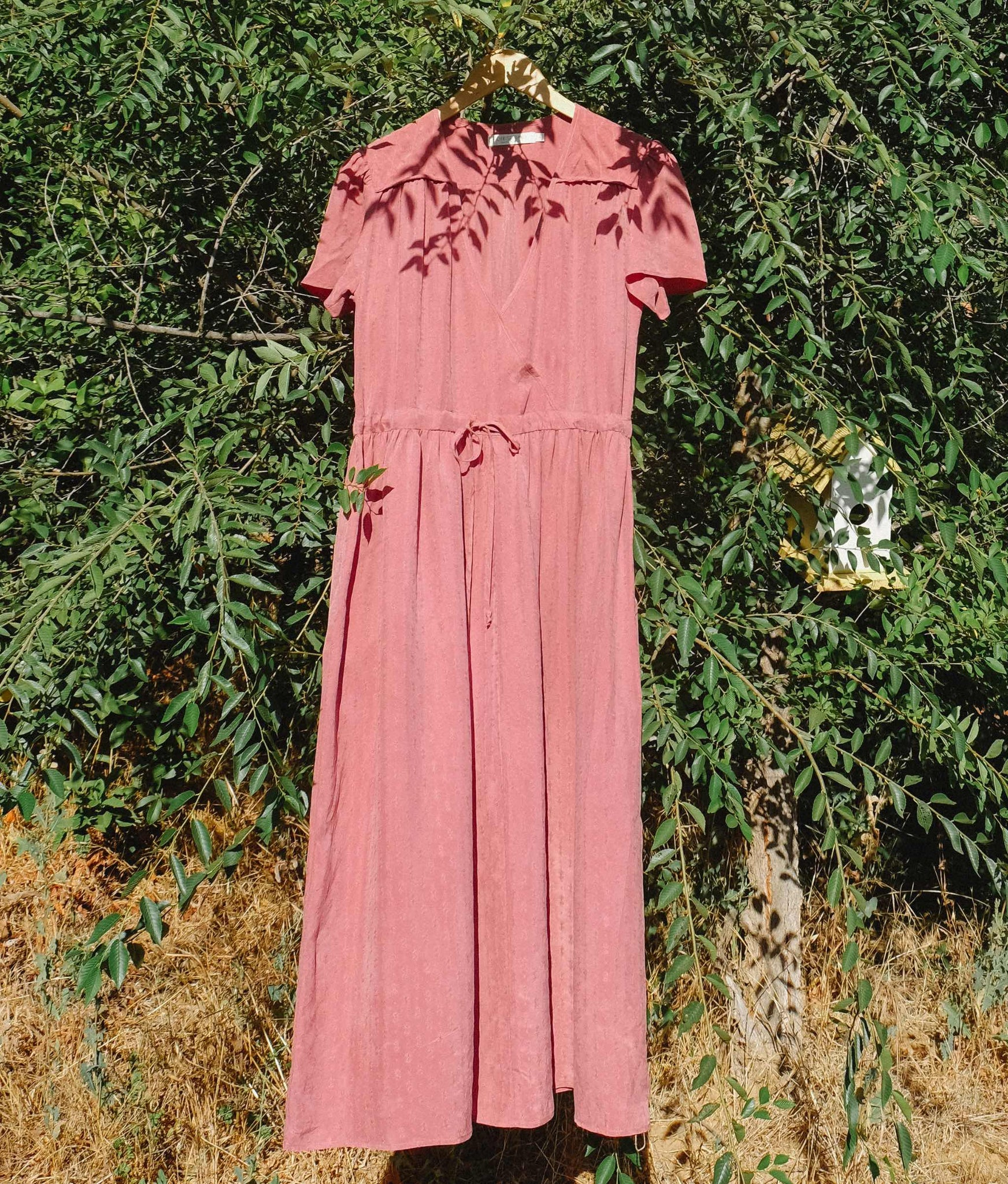 The Dawn Dress | Woven Mauve (5-of-a-Kind)