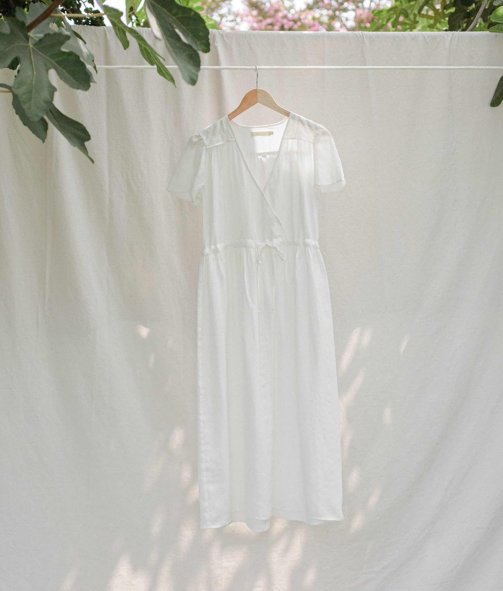 The Dawn Dress | Alabaster Diamond