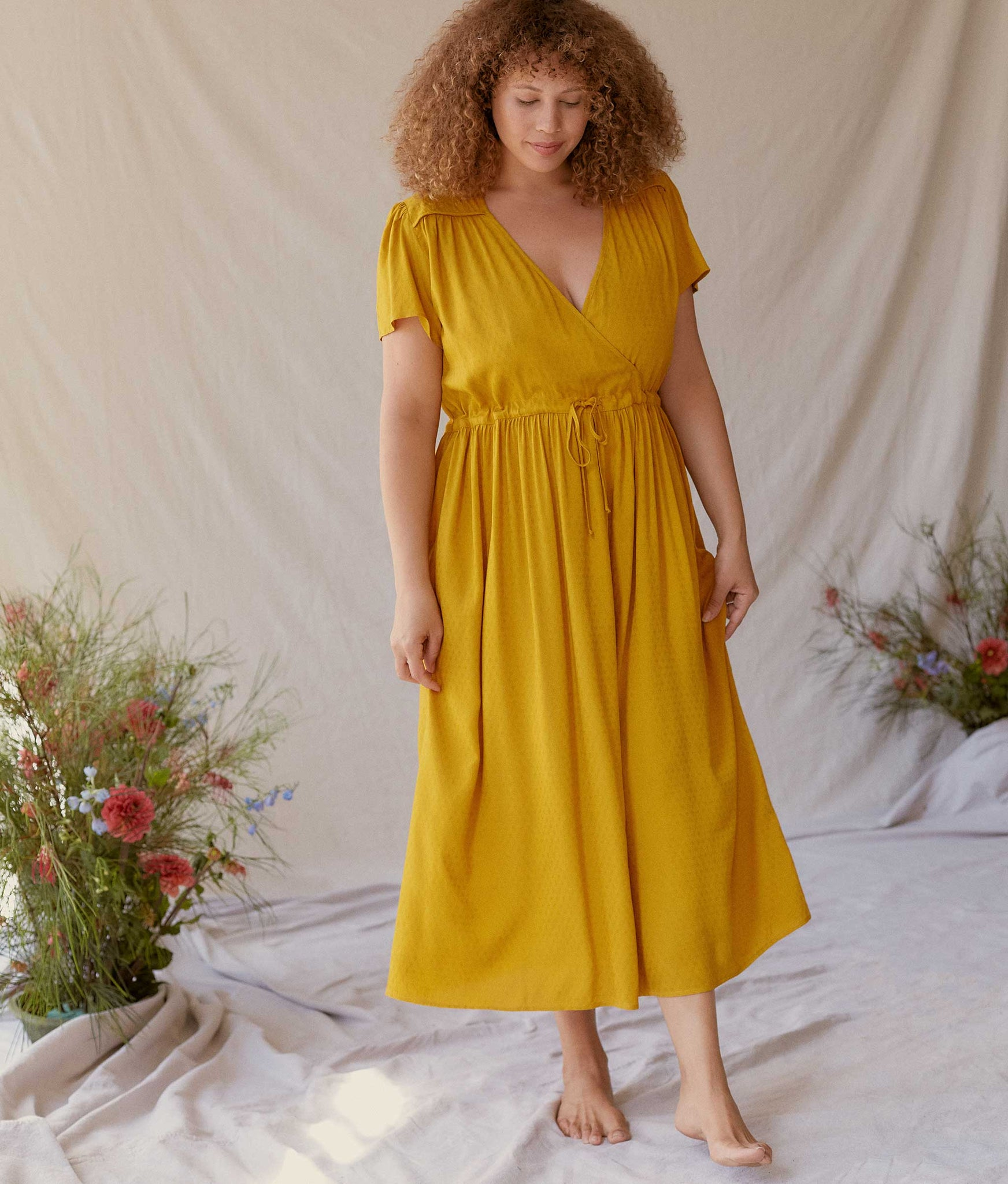 The Dawn Dress | Marigold