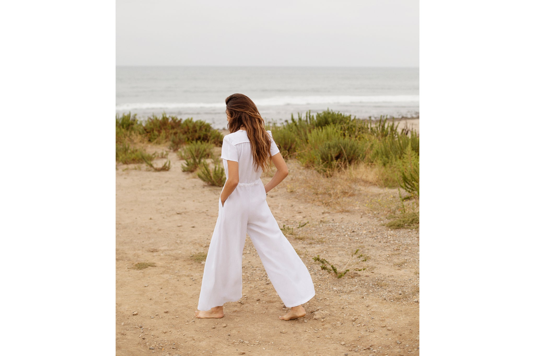 The Dawn Jumper | Alabaster Linen