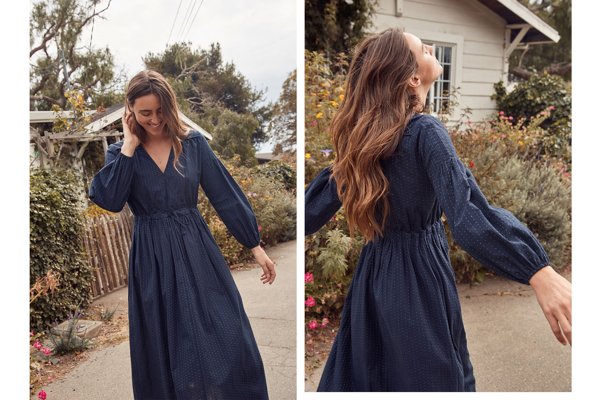 The Delilah Dress | Astral Midnight