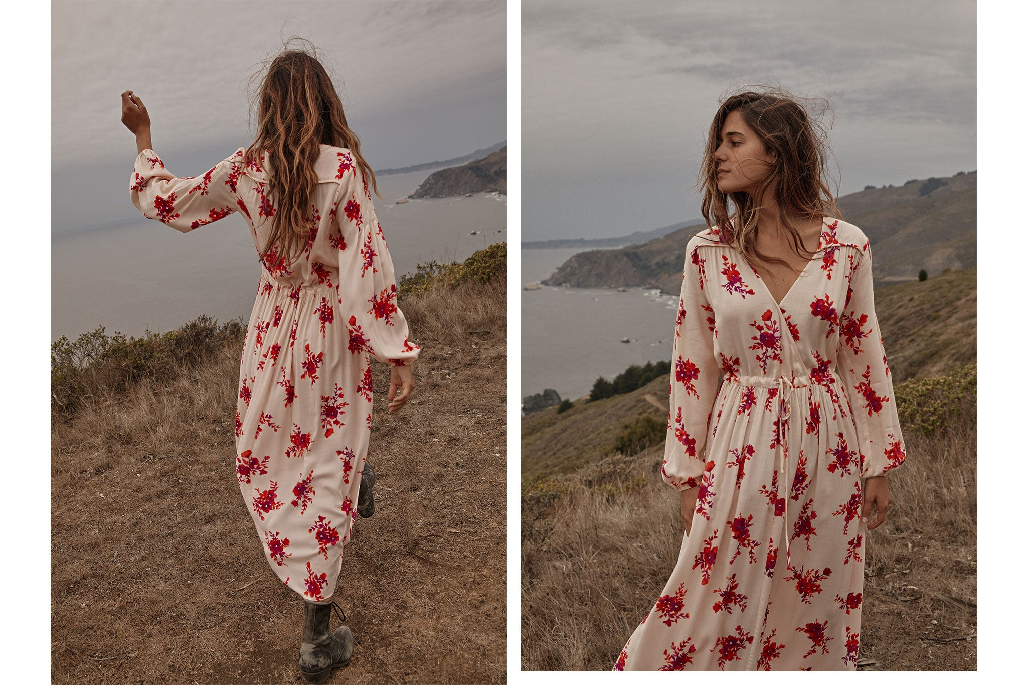The Delilah Dress | Butterscotch Floral