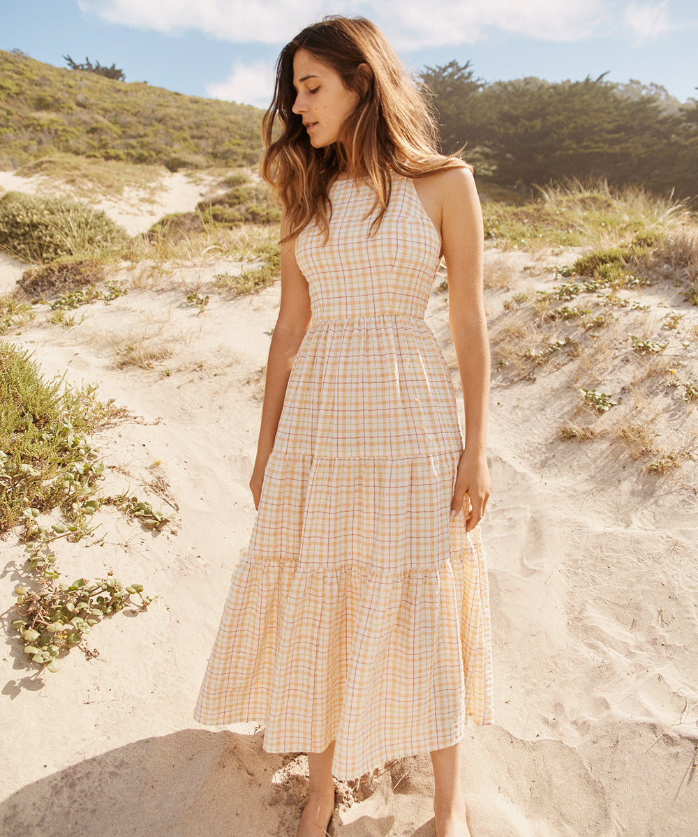 The Delphine Dress | Summertime Plaid