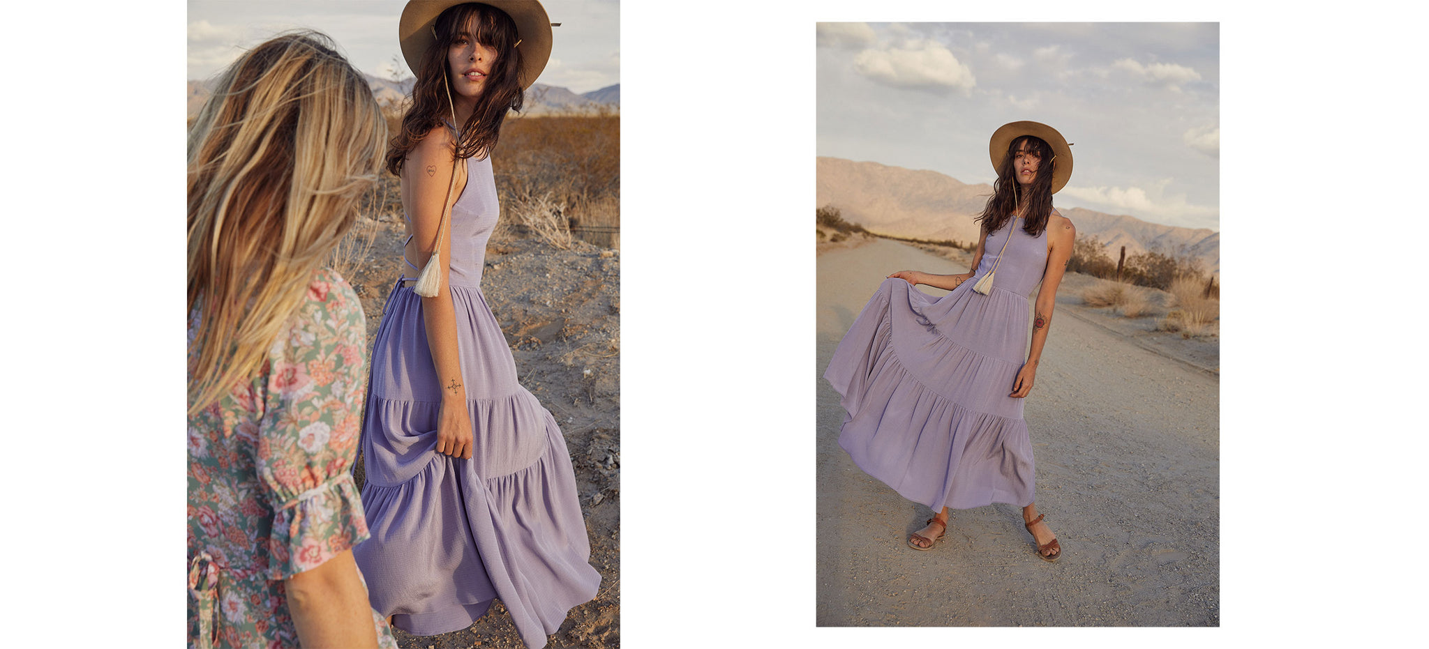 The Delphine Dress | Wisteria