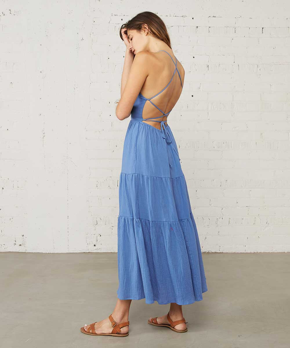 The Delphine Dress | Blue