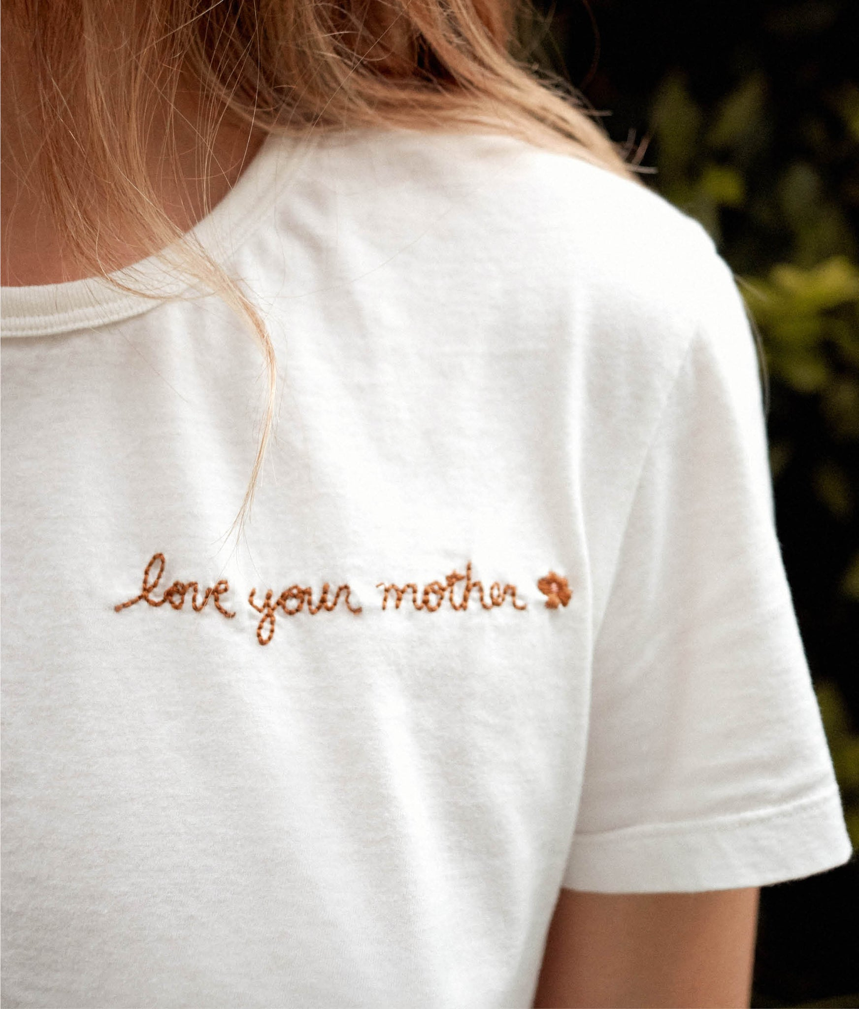 The Devon Tee | Love Your Mother Embroider