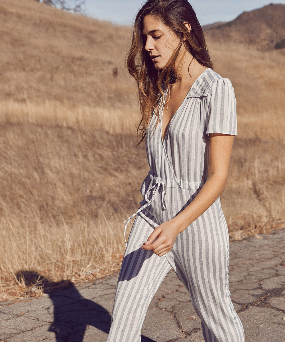 The Diana Jumper | Aegean Stripe