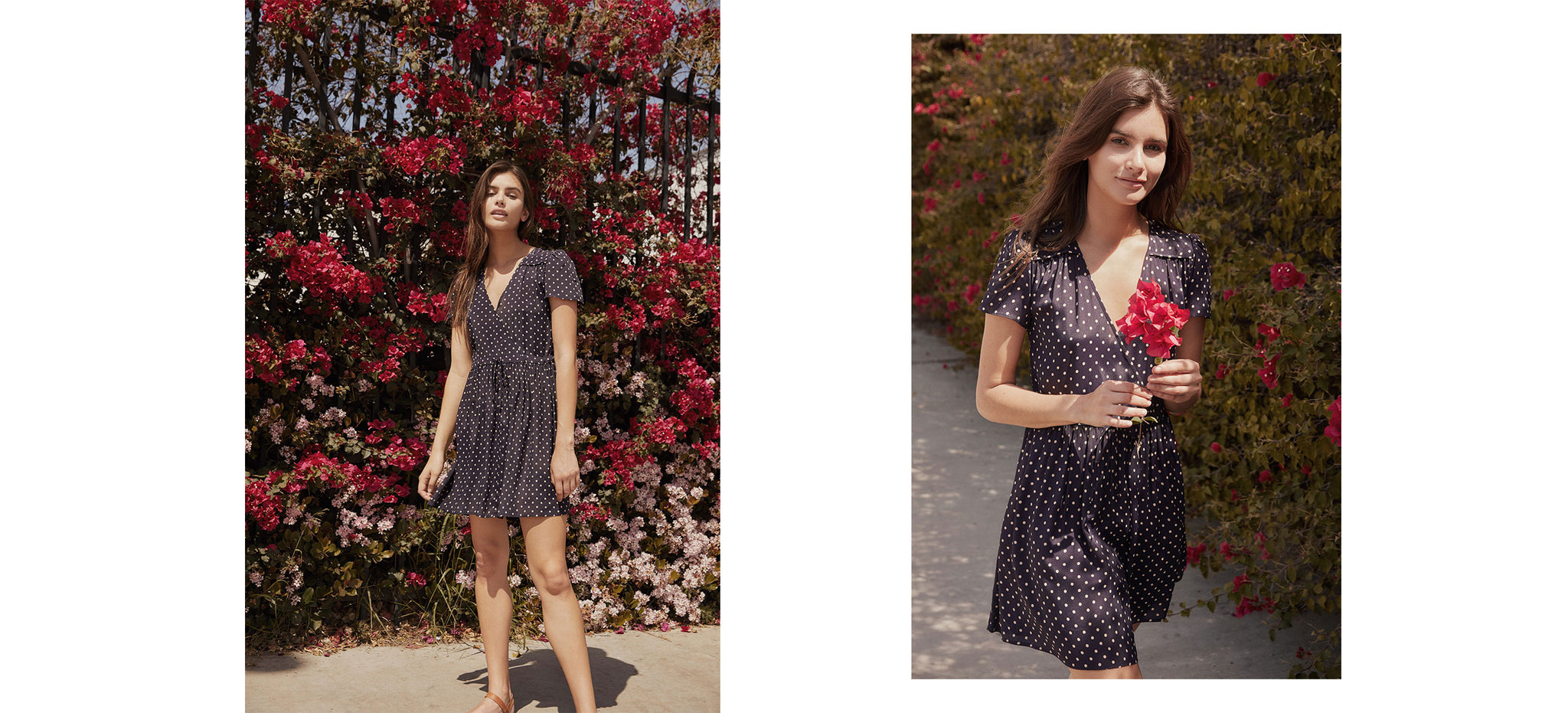 The Donna Dress | Midnight Dot