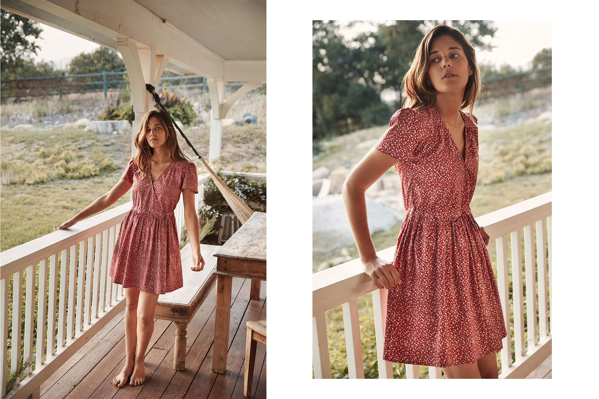 The Donna Dress | Carmine Ditsy