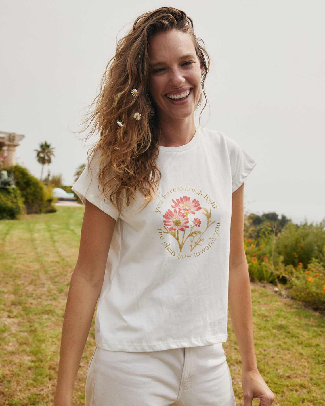 The Earth Tee | Floral