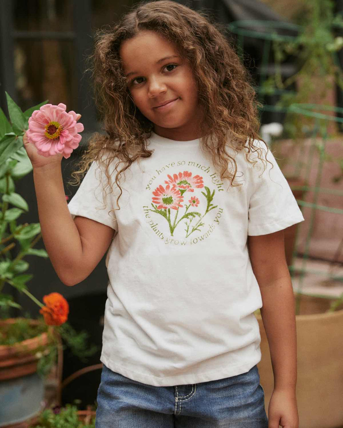 The Earth Tee Kids | Floral