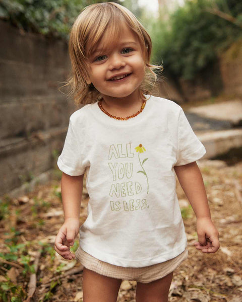 The Earth Tee Kids | All You Need Is Less