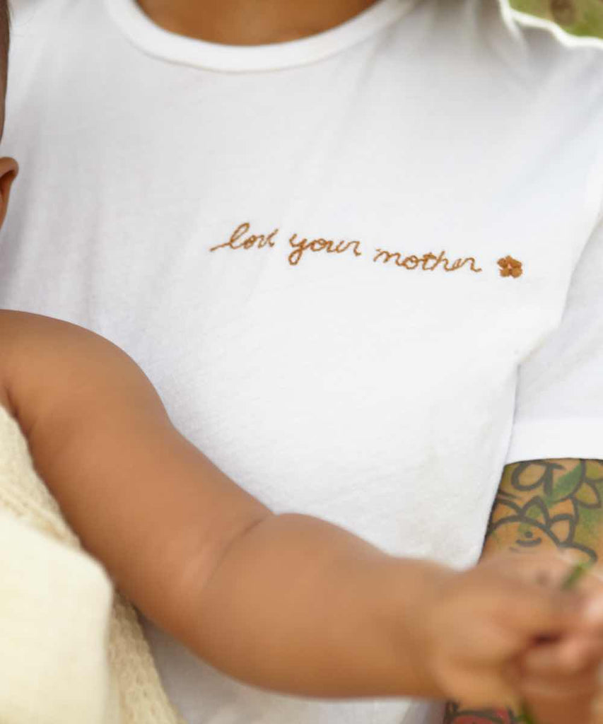 The Earth Tee | Love Your Mother Embroider