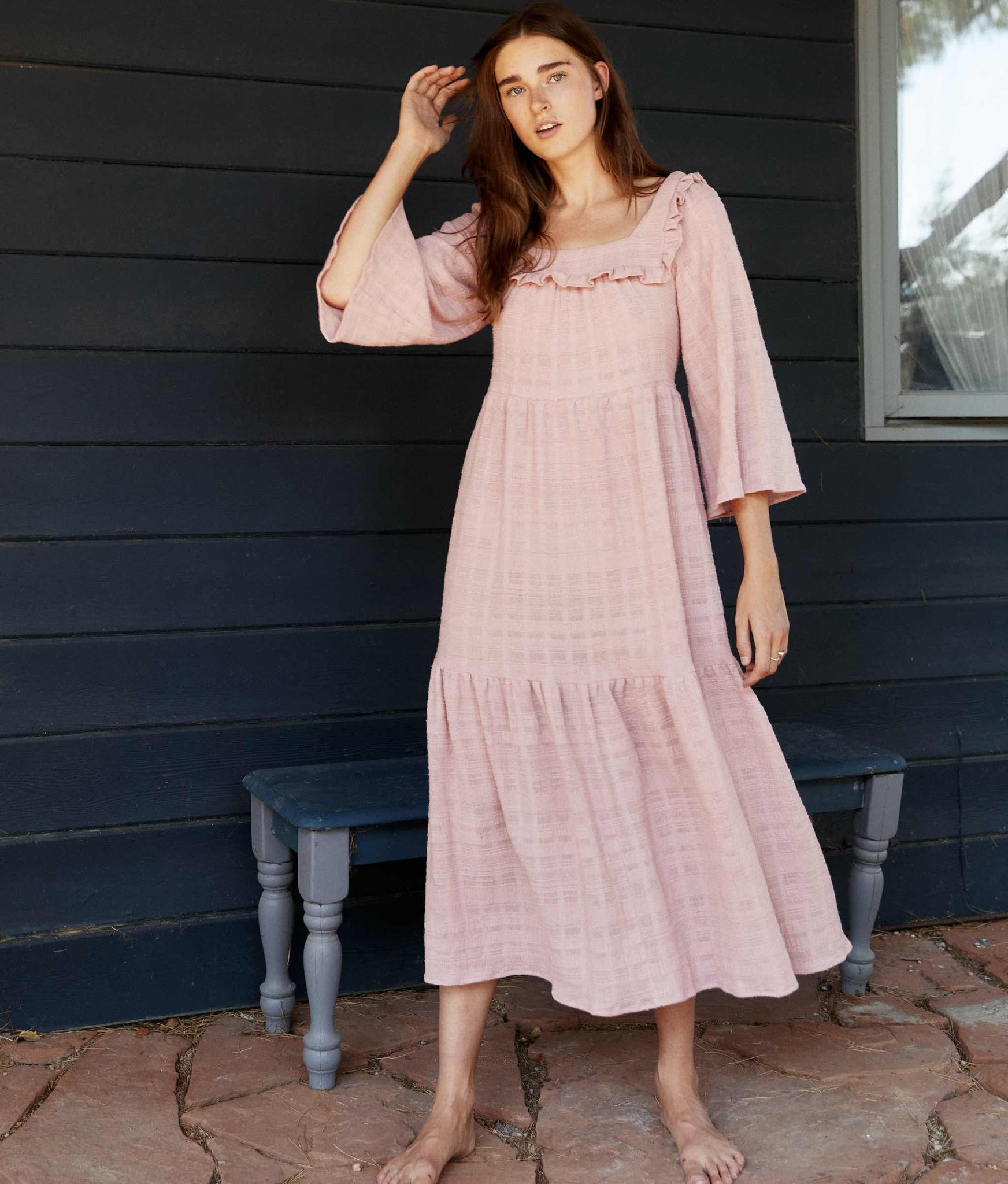 The Elodie Dress | Woven Honeysuckle