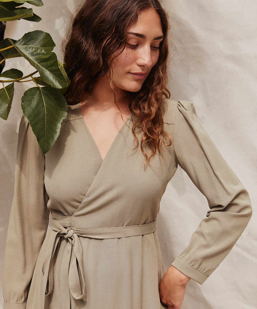 The Elsa Dress Petites | Sage