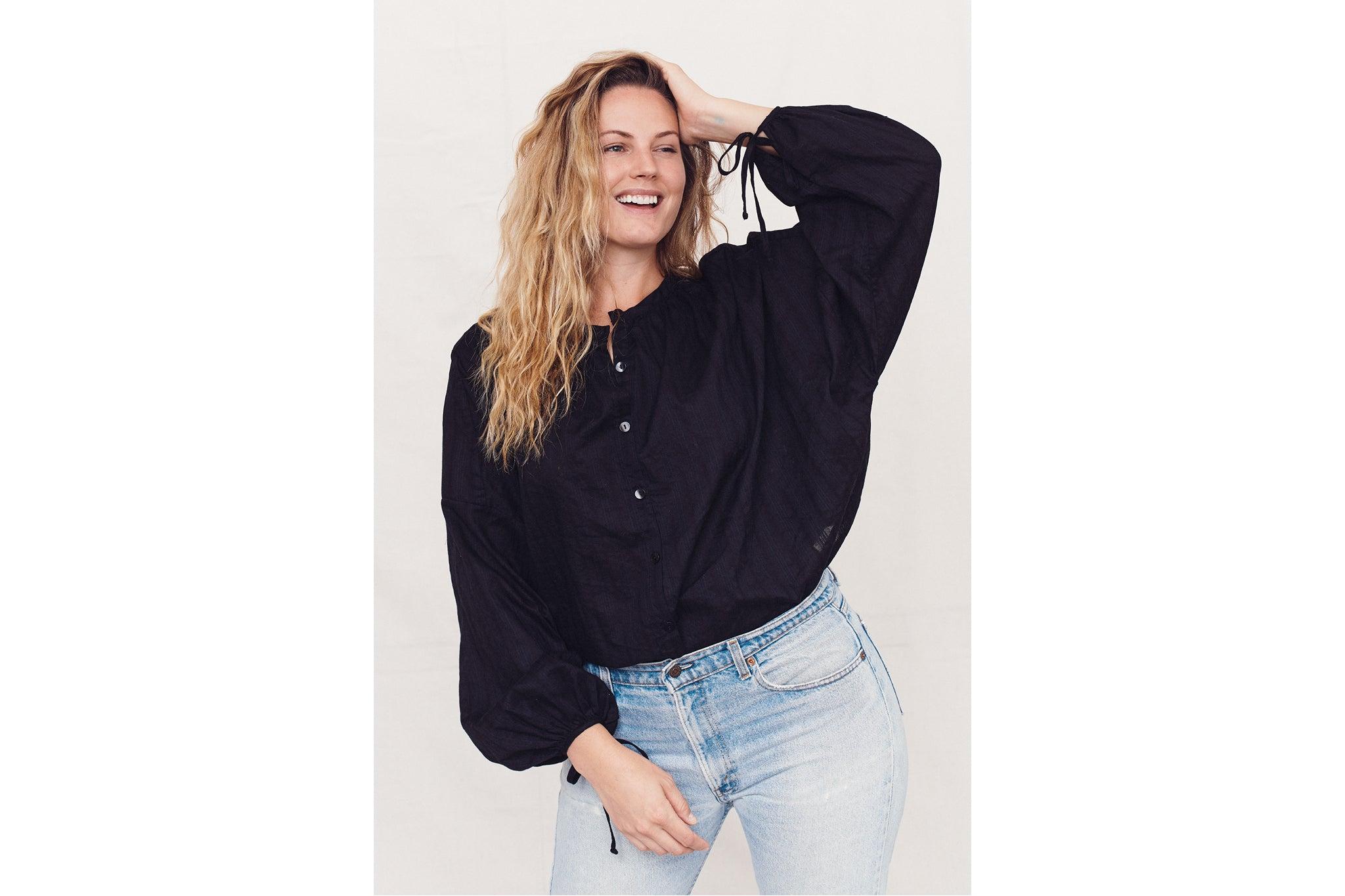 The Faye Top | Noir
