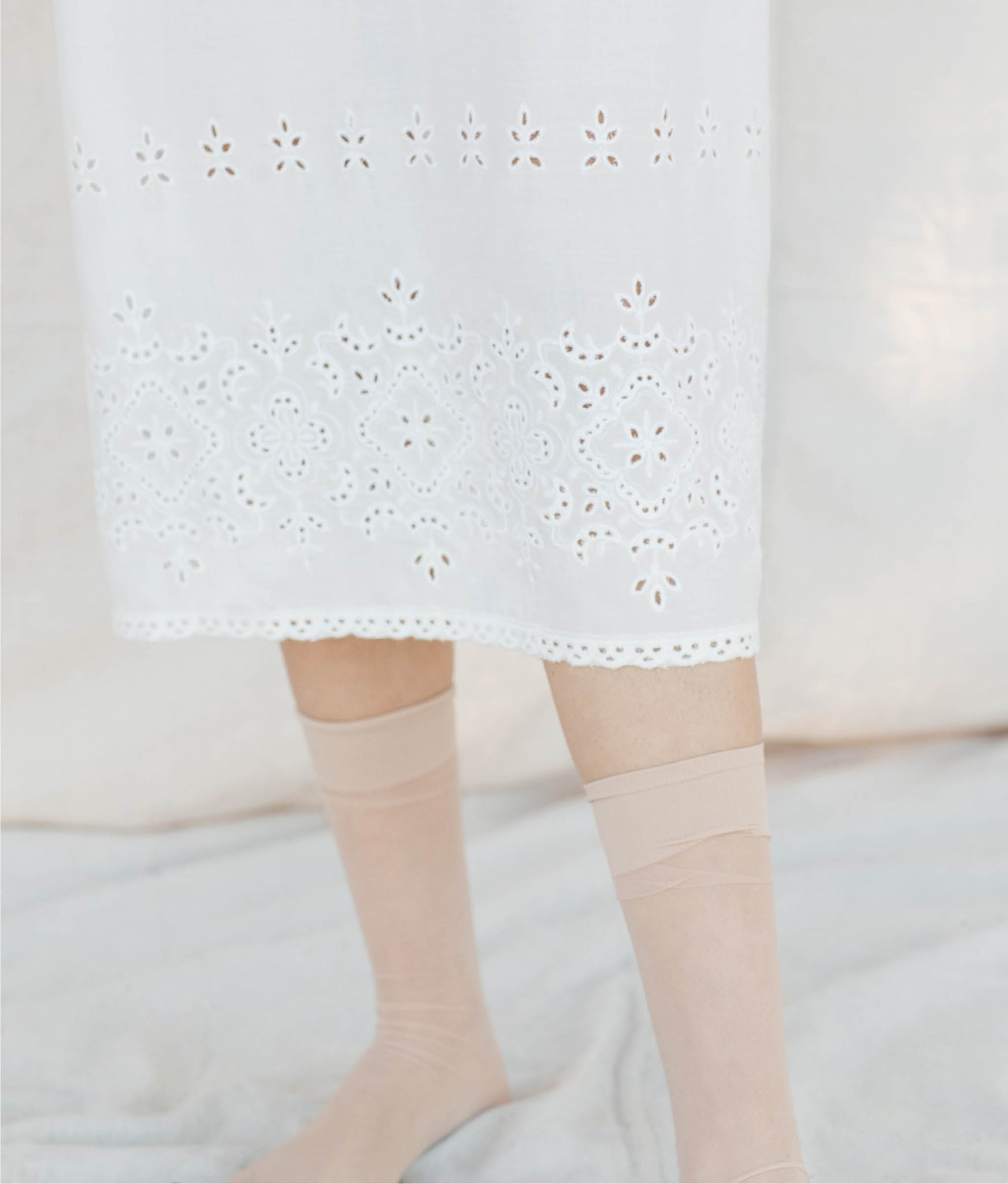 The Flora Slip (Long) | Venetian Lace
