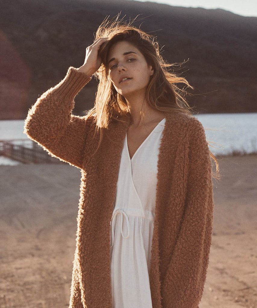 The Frankie Cardigan | Clay Knit
