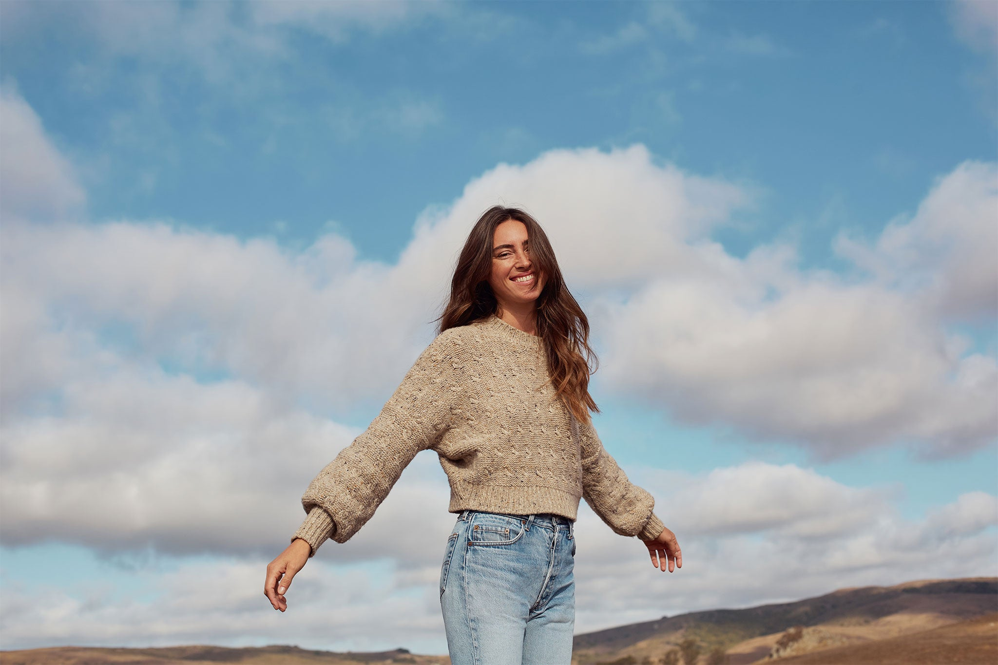 The Frannie Sweater | Oatcake