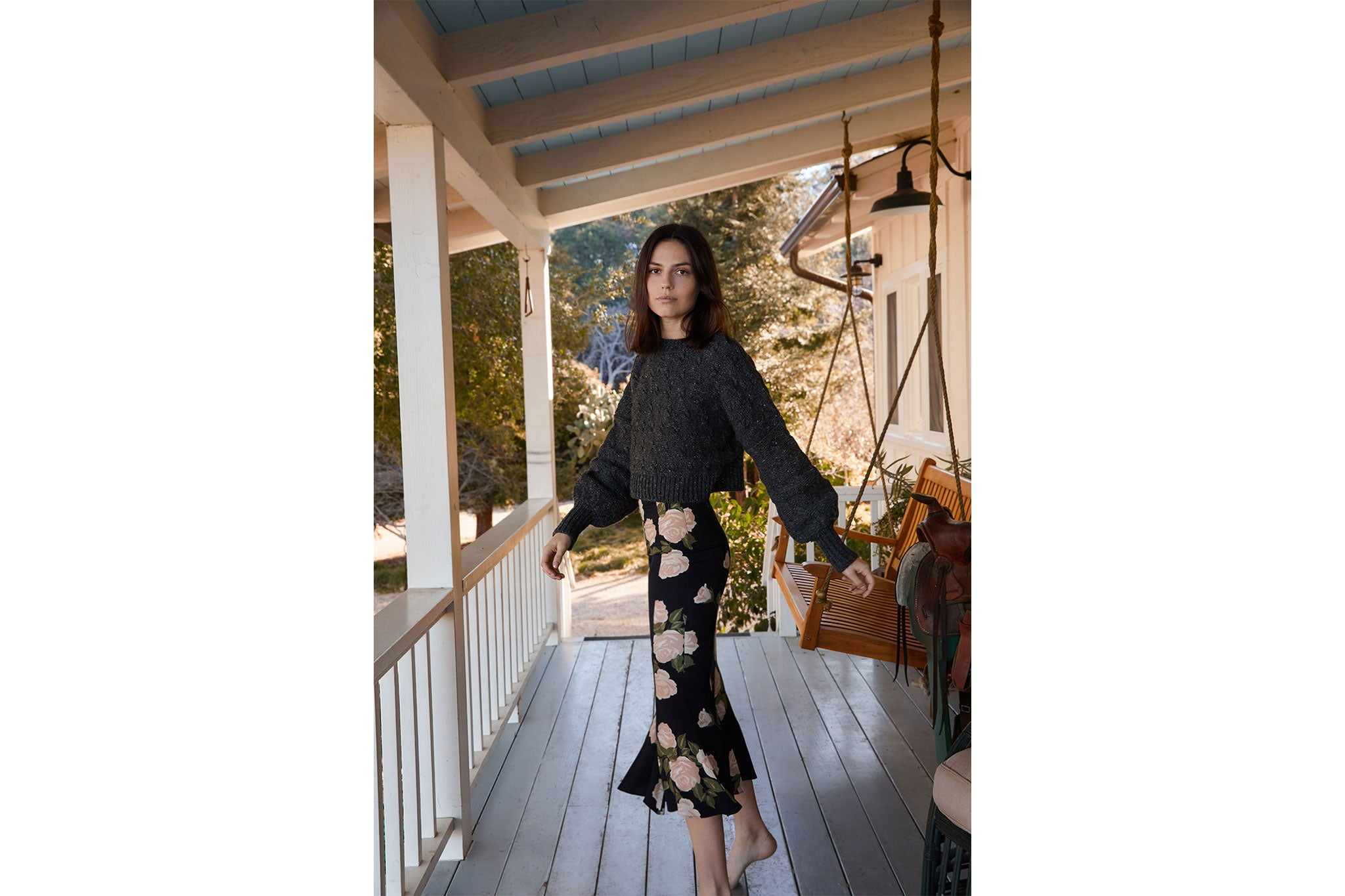 The Frannie Sweater | Driftwood