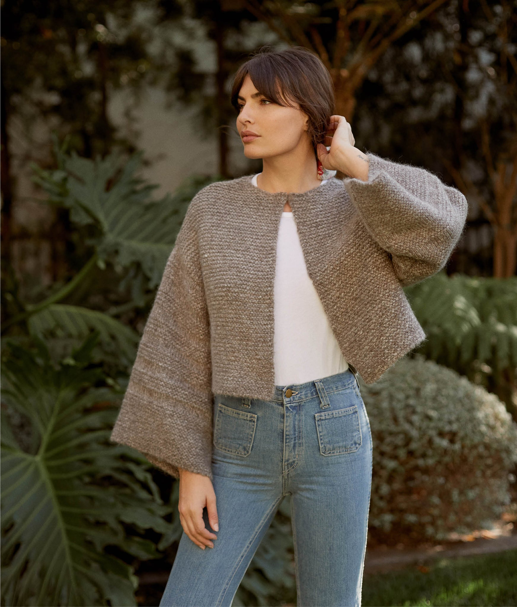 The Freya Sweater | Misty Oak Knit