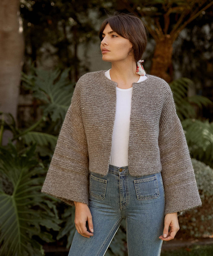 The Freya Sweater | Misty Oak Knit image 8