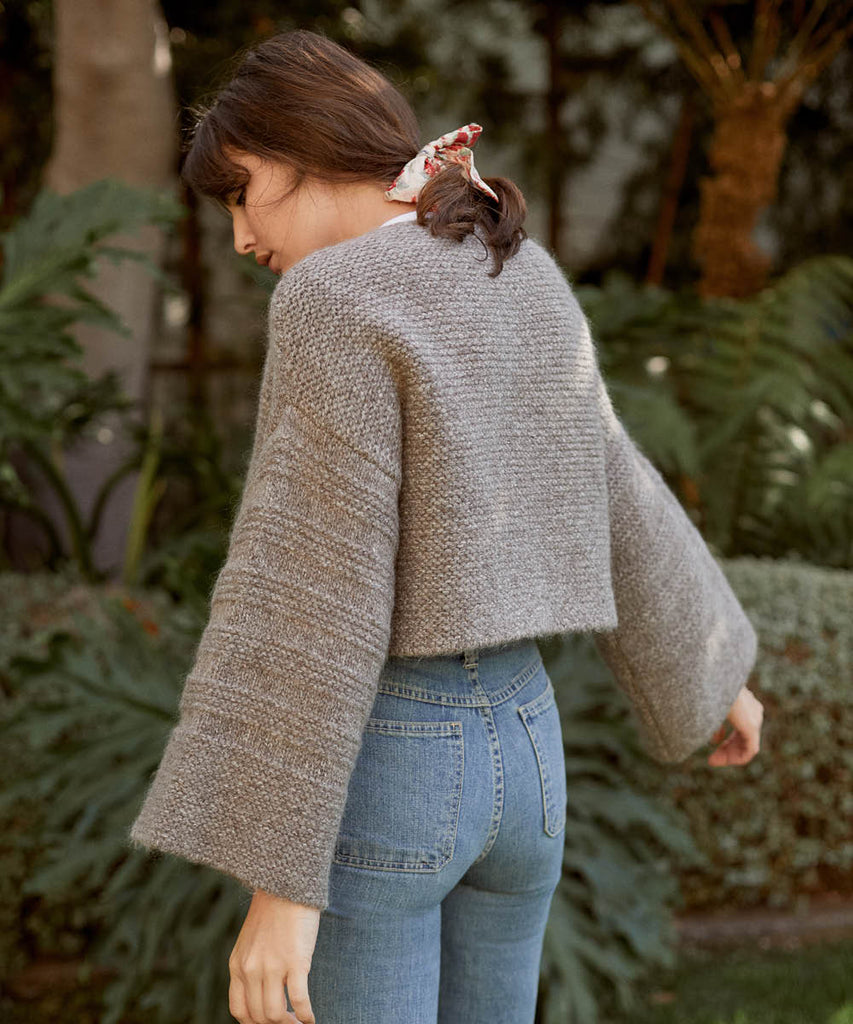 The Freya Sweater | Misty Oak Knit image 12