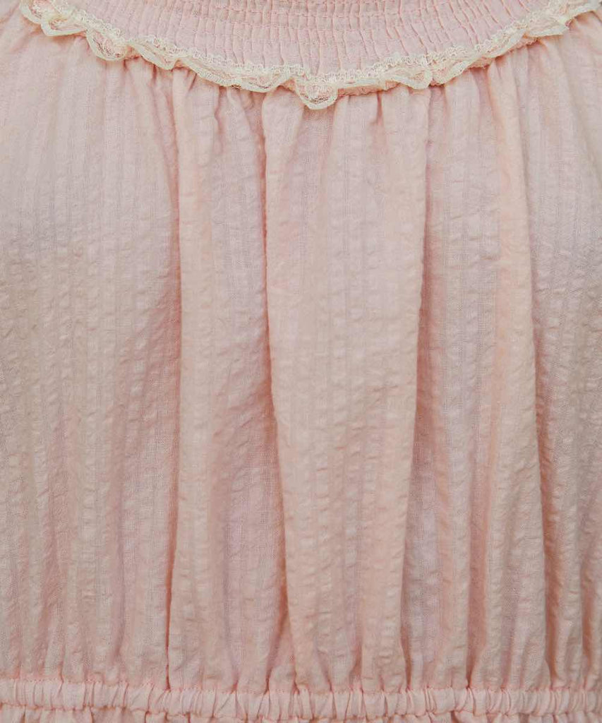 The Goldie Dress | Petal Lace (Imperfect)