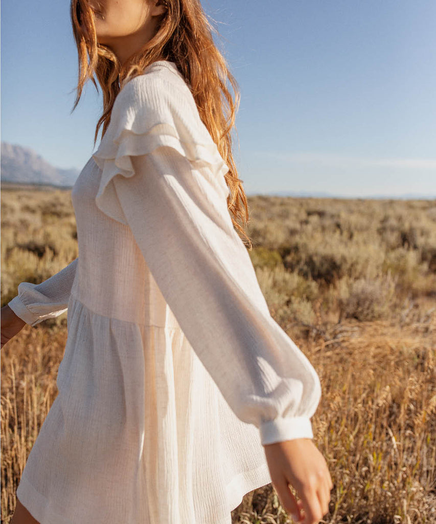 The Harriet Dress | Alabaster