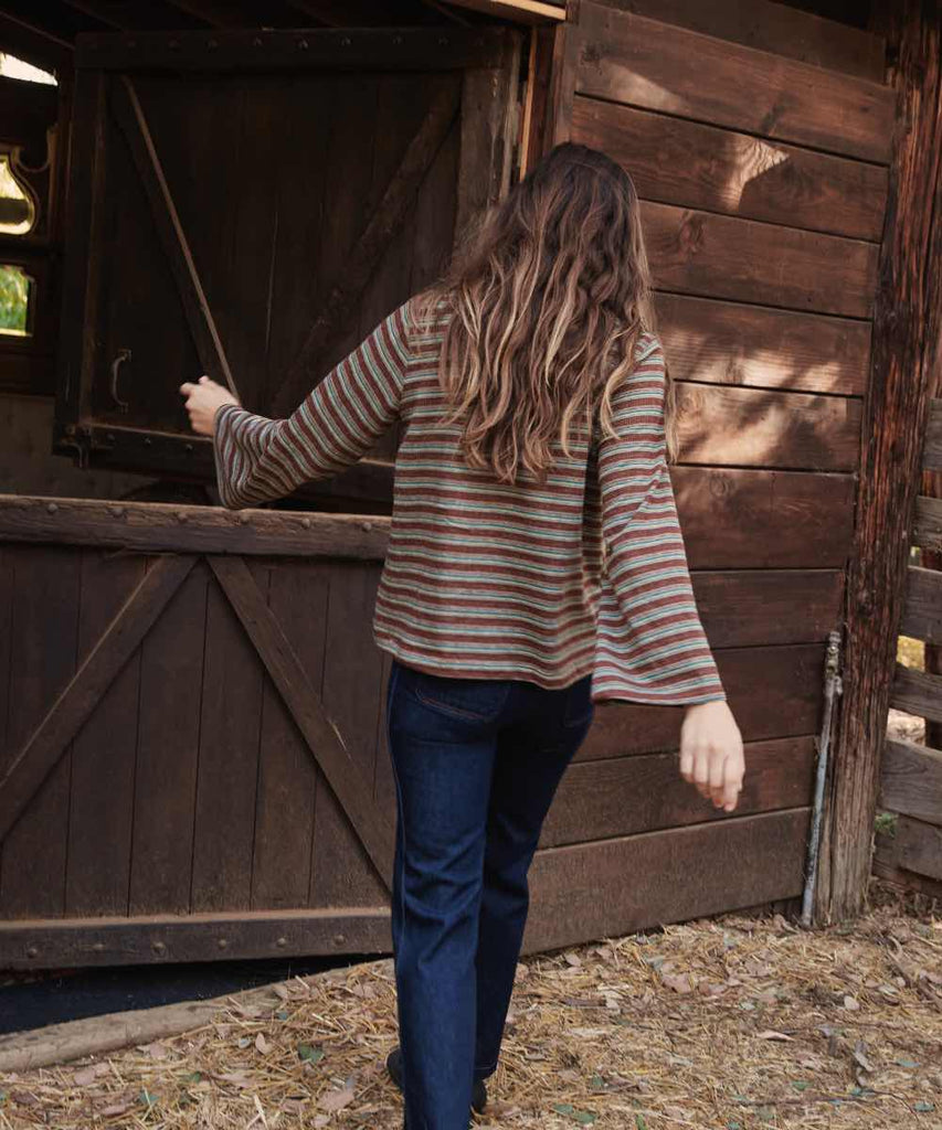 The Hayden Tee | Cabin Stripe