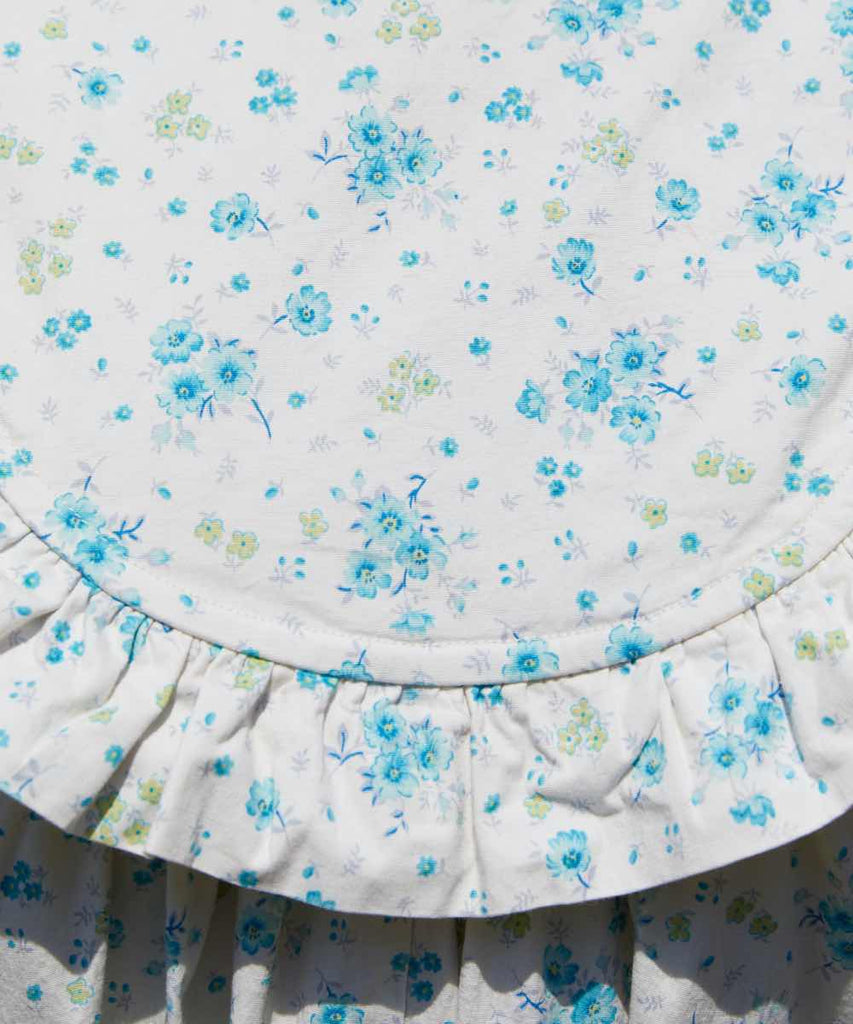 The Holly Dress | Blue Anemone Meadow
